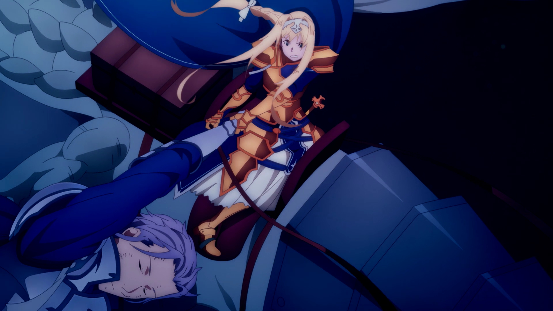 刀劍神域Alicization War of Underworld第8集 血與命